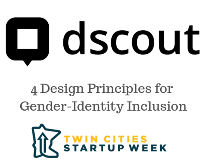 4 Design Principles for Gender-Identity Inclusion