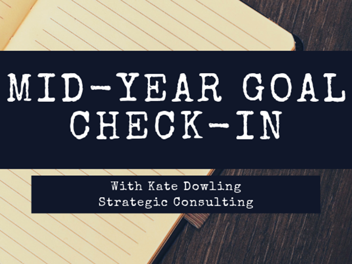 Mid Year Goal Check-in