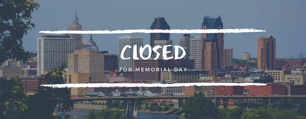 Memorial Day - Closed