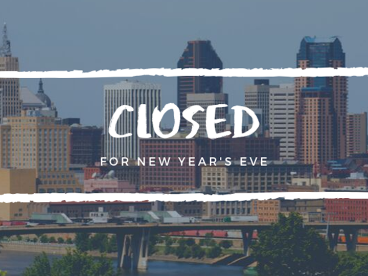 New Year's Eve - Closed